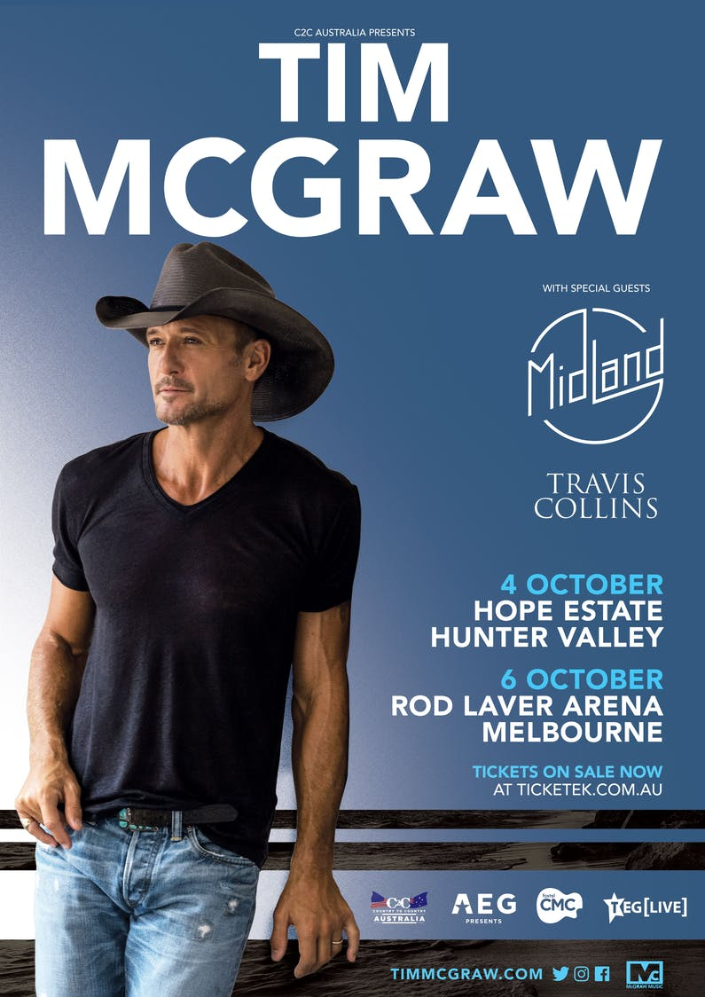 Image of the event 'Tim McGraw Live at Hope Estate'