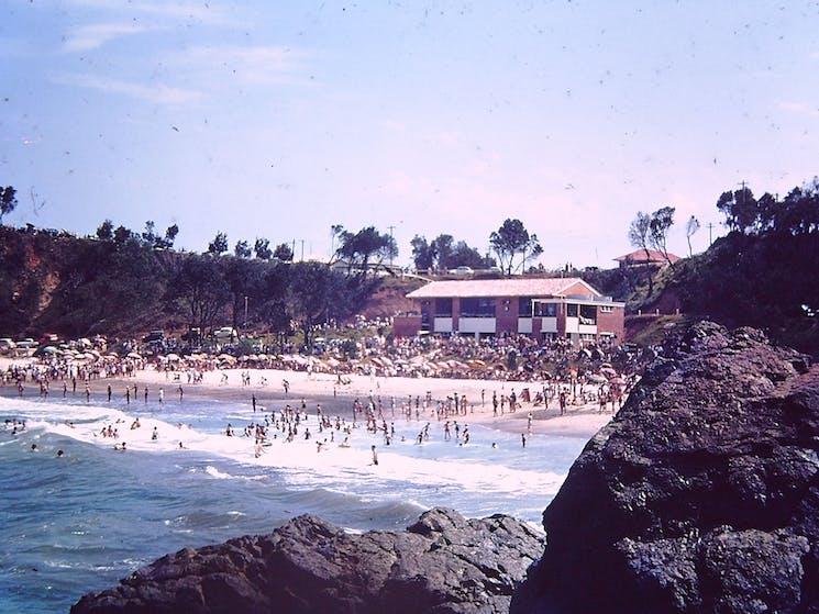 Flynn's Beach 1960s