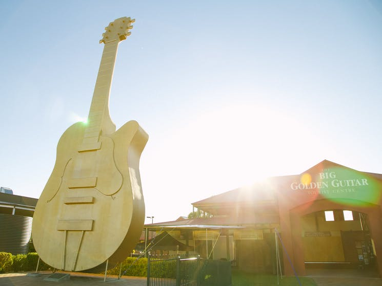Big Golden Guitar Tourist Centre