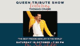 Image of the event 'Bohemian Rhapsody - Queen Tribute Show'