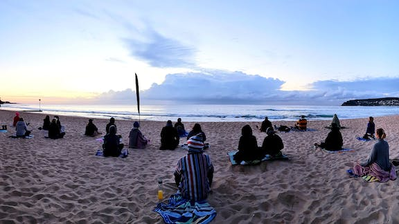 Making Meditation Mainstream Free Beach Meditation Sessions - Avalon Beach