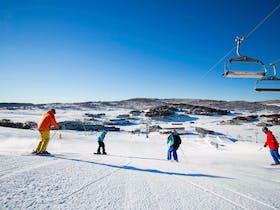 Perisher Range Ski Resort, Kosciuszko National Park. Photo: A Lloyd/Perisher