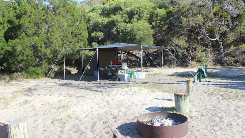 K'gari (Fraser Island) camping, Great Sandy National Park