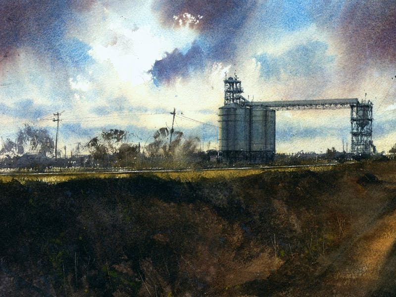 Image for Watercolour: Learning the rules, then breaking them with John Haycraft