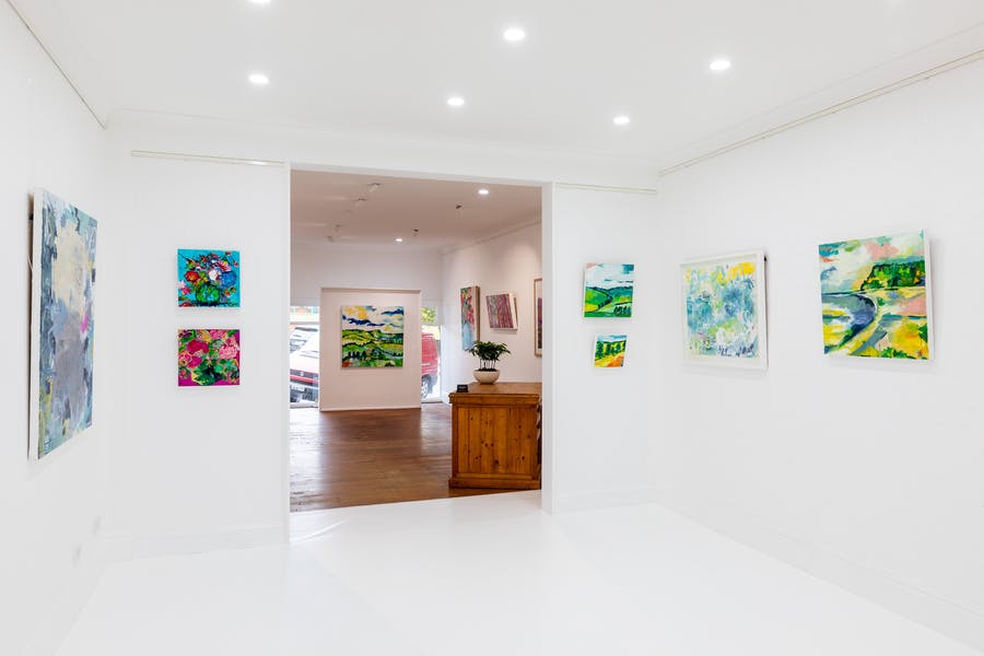 The White Room - Our Resident Artists section