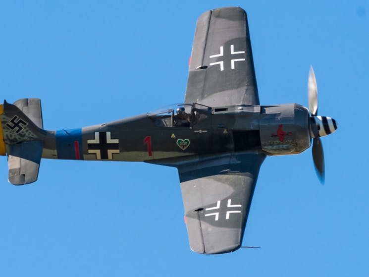Focke Wulf FW 190 at Wings Over Illawarra