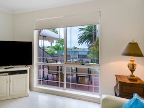 Sit back, relax and enjoy the views or watch a DVD or Foxtel.