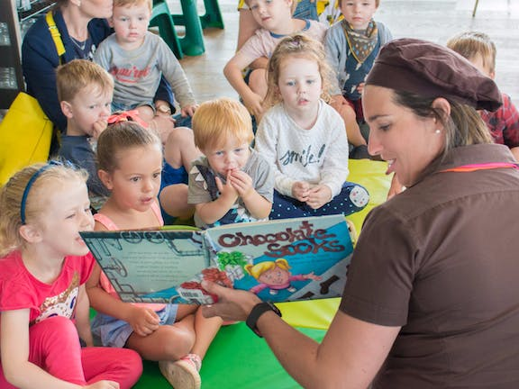 Chocolate Story Time Wednesdays at the Great Ocean Road Chocolaterie & Ice Creamery