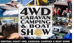 Image of the event 'Central Coast Four Wheel Drive Caravan Camping and Boat Show'