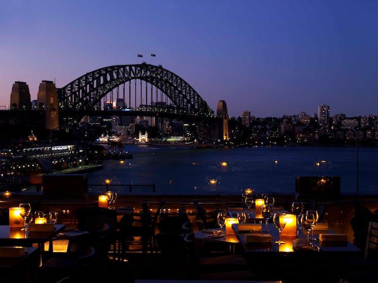 evening terrace