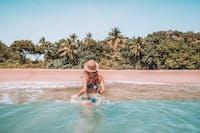 Women in water on Magnetic Island