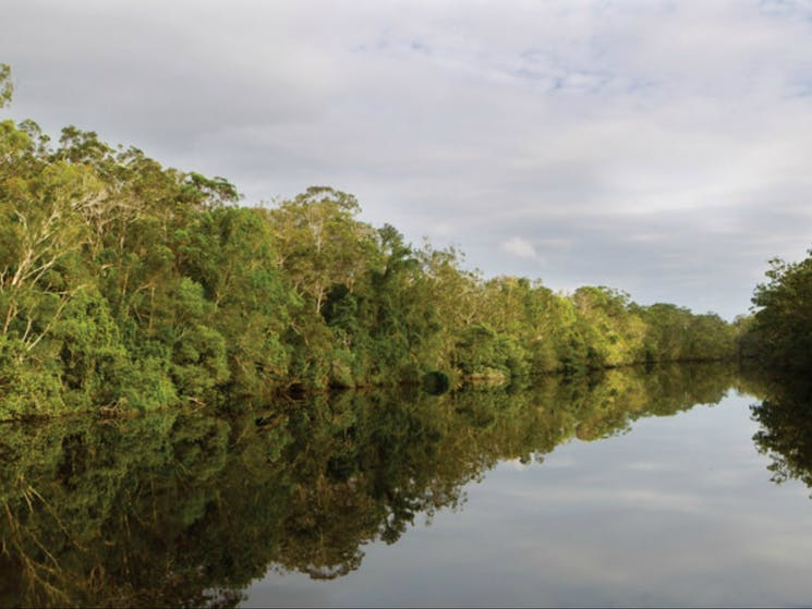 Esk River paddle route