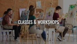 Image of the event 'Paint and Sip Class - Lagoon Cabin'