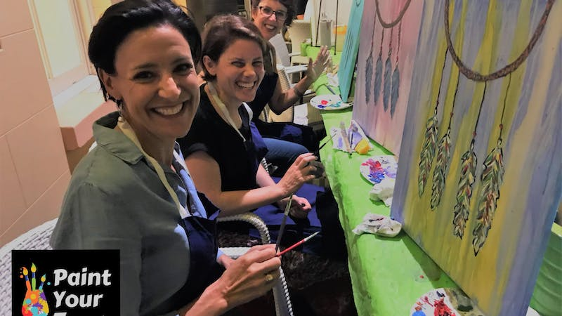 Paint Your Town: Paint and Sip at The Seed