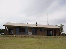 Facade of the home