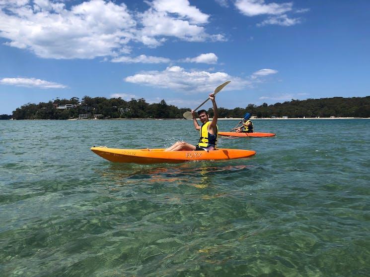 Kayaking at Bundeena