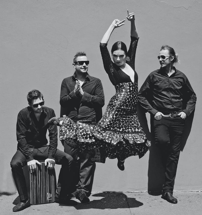 Image of the event 'Flamenco! at Newcastle Music Festival'
