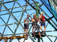 mid zoom course zipline cairns zoom and wildlife dome