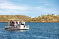 Enjoy the scenary from a boat tour with Lake Moondarra