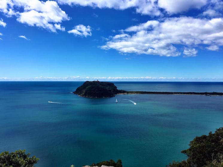 The breathtaking view from West Head