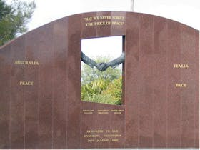 Cowra Italy Friendship Monument