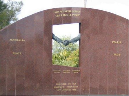 Cowra Italy Friendship Monument
