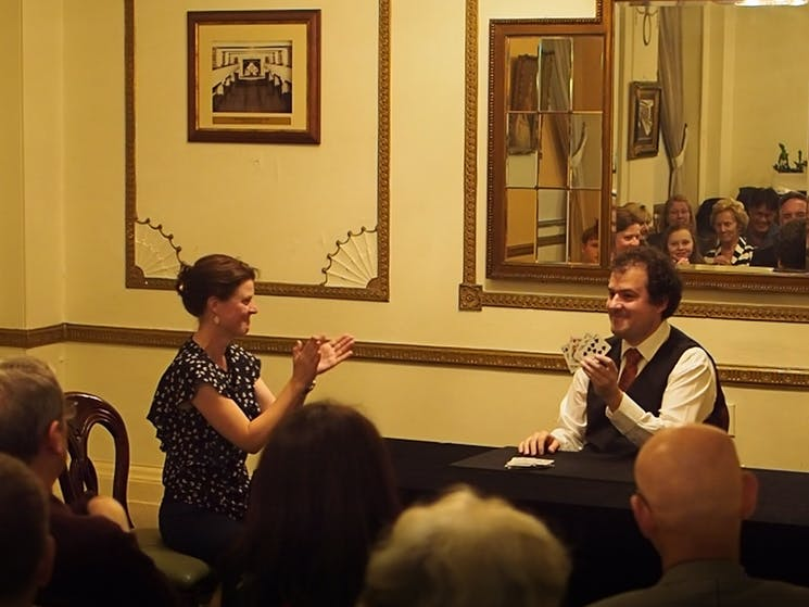 Dr Taliesin Master Magician and Classic Conjuring, Sydney