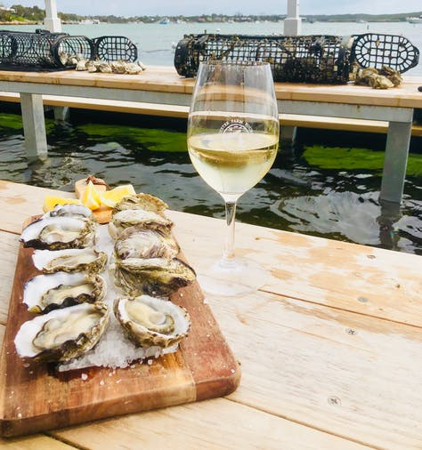 Oyster Farm  Tasting Tour  Riesling  Extra Oysters