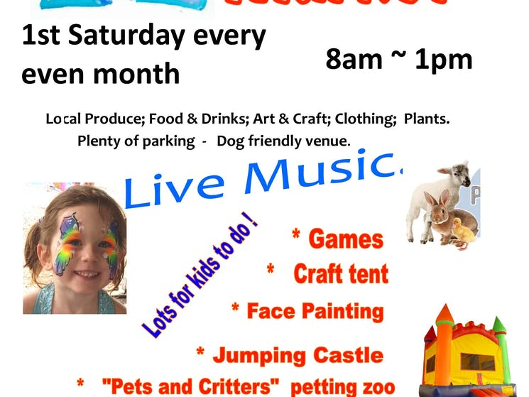 Valla Beach Markets Saturday with live music and kids activities
