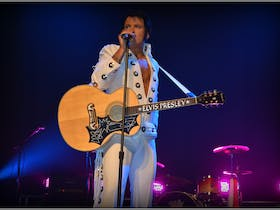 Elvis Forever - Damian Mullin 'Up Close and Personal'