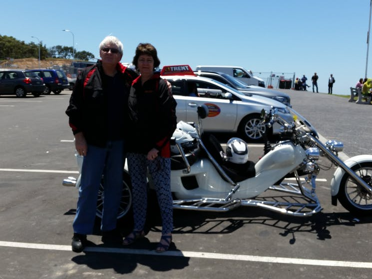 Trike Trips - Stanwell Tops lookout