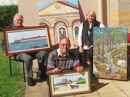 Harbourside Artists present Art In The Park