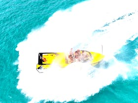 Airlie Beach Jetboat, 180s, 360s, drifts, spins, nosedives and more!