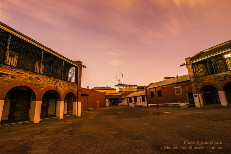 Adelaide Gaol  Ghost Tours  Ghost Hunts