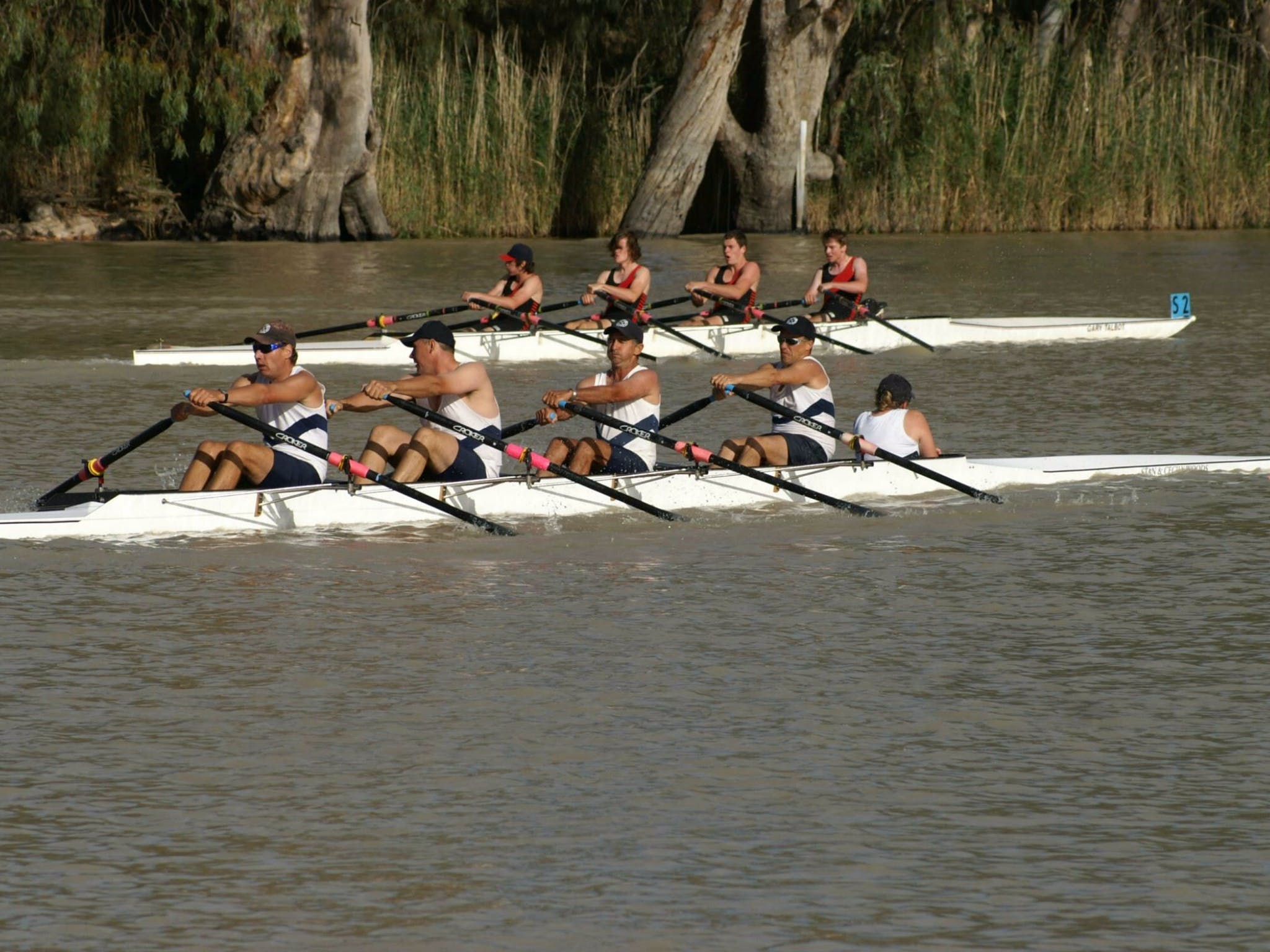 Wentworth Rowing on the Darling River