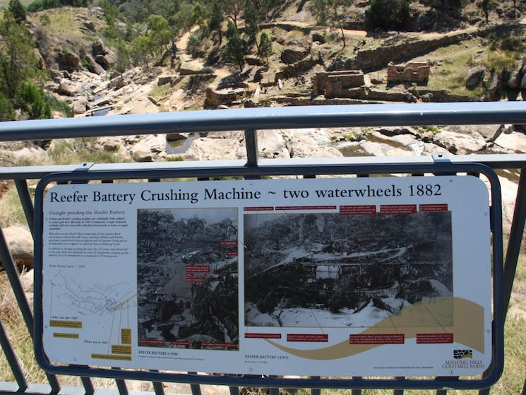The  reefer battery crushing machine & how it was drought proofed  using two waterwheels in 1882