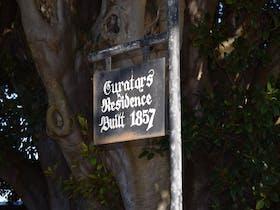 Curators sign