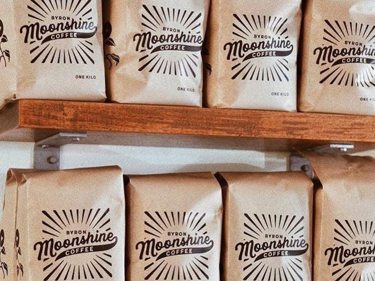 Moonshine Coffee Produce