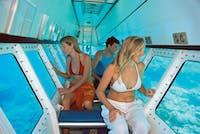 inside the semi-submarine