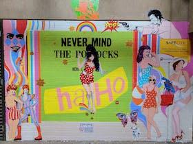 Street Art in Chancery Lane