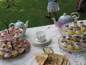 Mad Hatters Tea Party Portland Botanical Gardens
