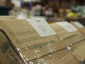Book Grocer online orders ready to ship to customers
