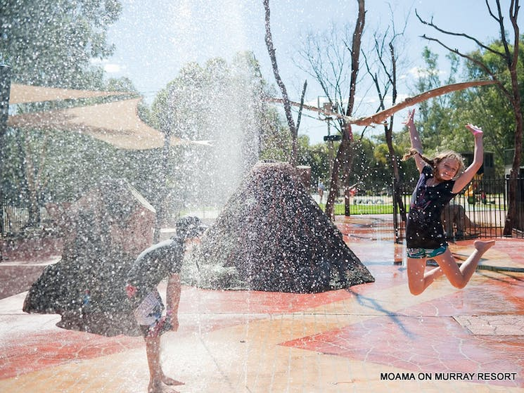 waterplay for the children