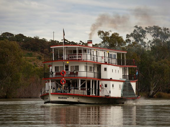 PS Marion - Mannum to Morgan - 3days 2 nights