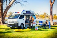 HiTop campers for two to three people