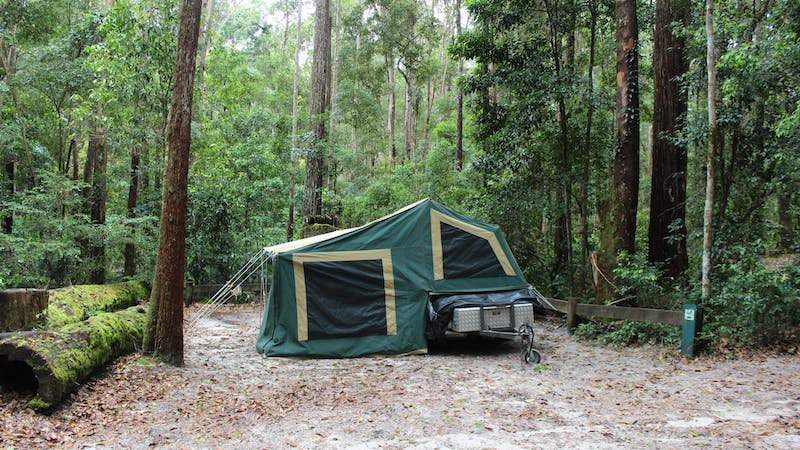 K'gari (Fraser Island) camping, Great Sandy National Park