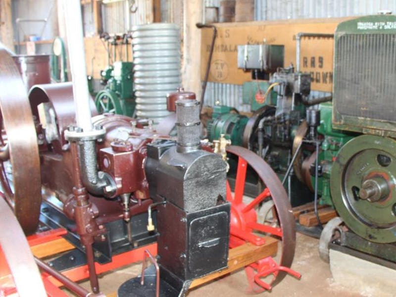 Bombala Historic Engine and Machinery Shed