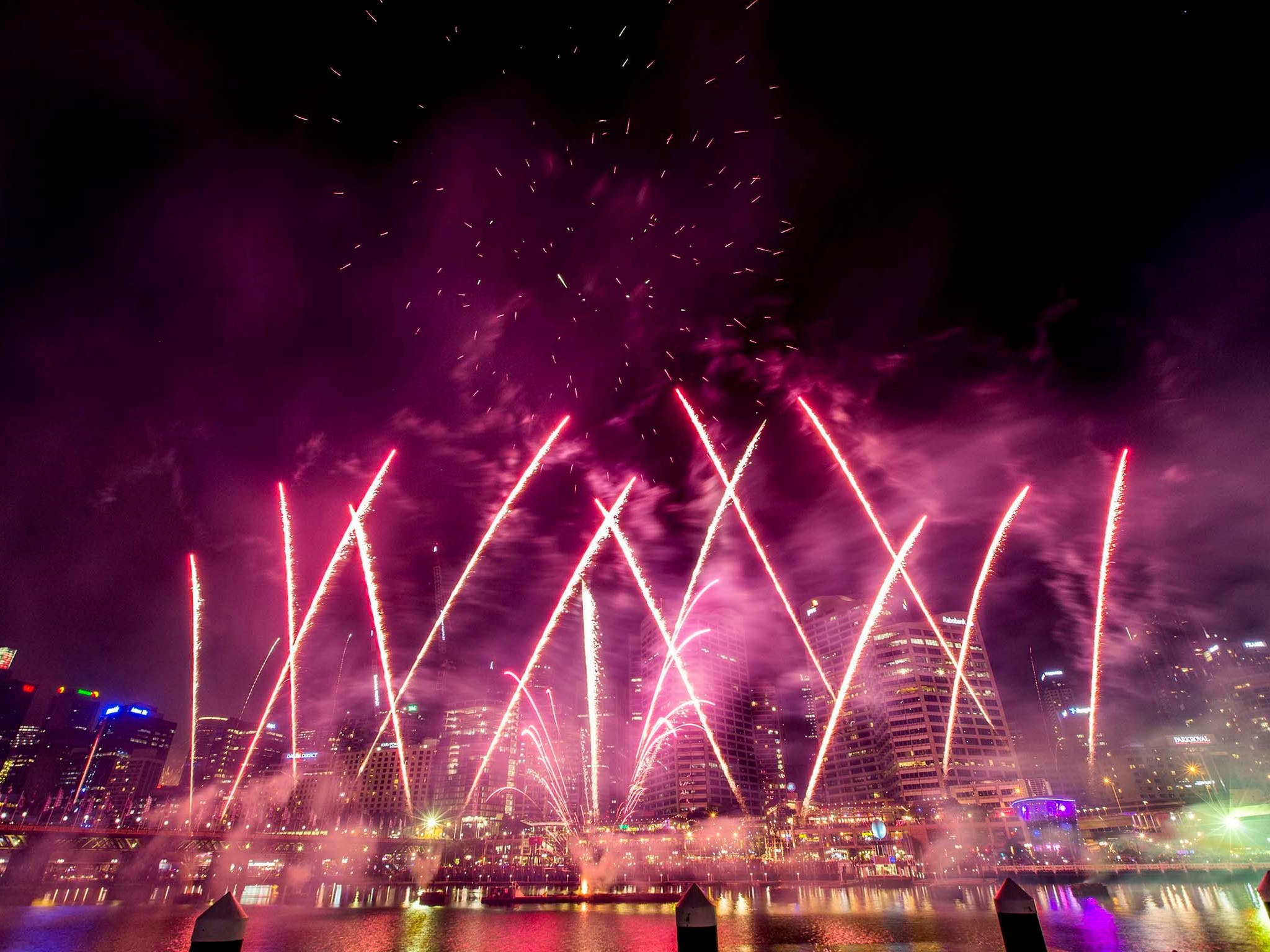 Sydney New Year's Eve at Darling Harbour