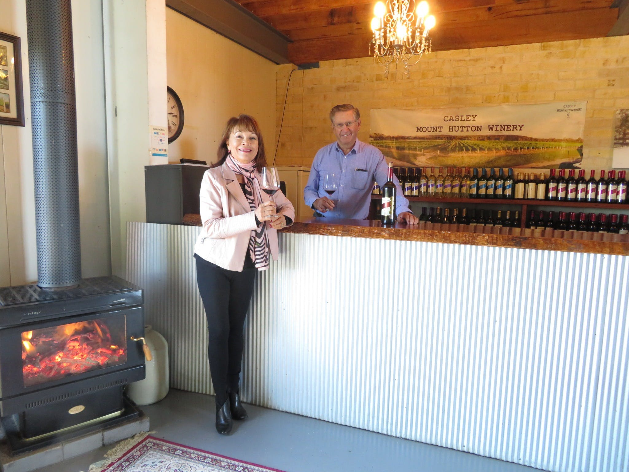 Sonya and Grant Casley at Cellar Door