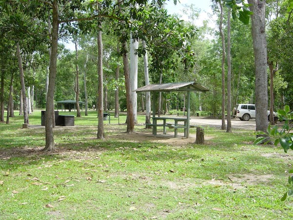 Broadwater camping area, Abergowrie State Forest